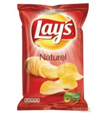 Chips Lay's naturel - sel - 40g