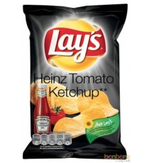 Chips Lay's Heinz Tomat Ketchup - 20 x 40g