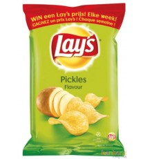 Chips Lay's pickles - 20 x 40g