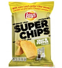 Chips Lay's  superchips poivre et sel - 20 x 40g