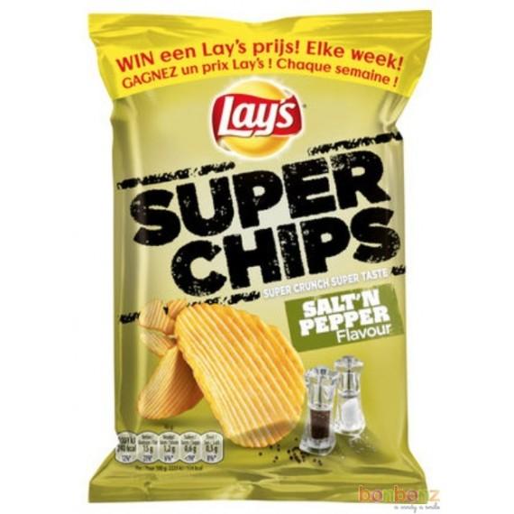 Chips Lay's  superchips poivre et sel - 20 x 40g