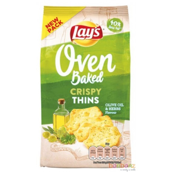 Lay's Oven Baked - huile d'olive & herbes