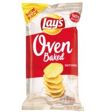 Lay's Oven Baked - natural - sel - 12 x 150g