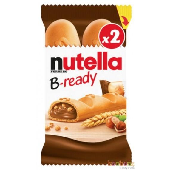 Nutella B-Ready au chocolat aux noisettes - 16 x 132g (6p)