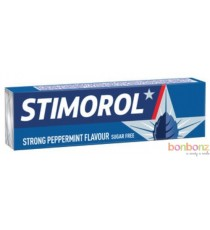 Stimorol strong peppermint chewing gum sans sucre