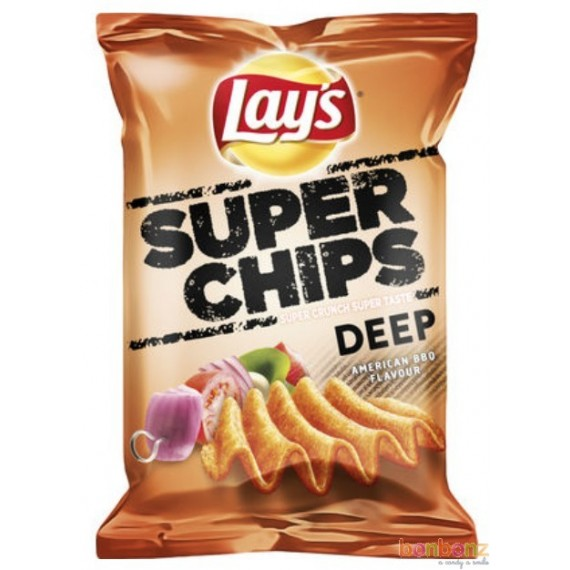 Super chips Deep american BBQ Lay's - 147g