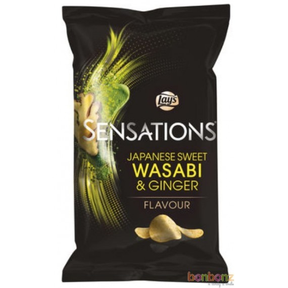 Chips Lay's Sensations - Japanese sweet wasabi & ginger - 150g