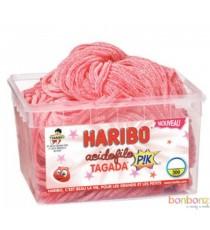 Acidofilo Tagada Pik Haribo - 300 lacets citriques à la fraise