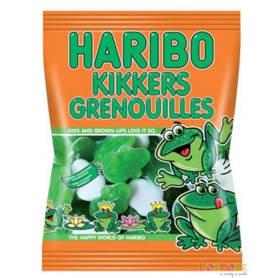 Sachet de 75g de bonbons grenouilles Haribo