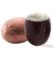Oeufs de Pâques fondant crème à l'orange - au chocolat belge