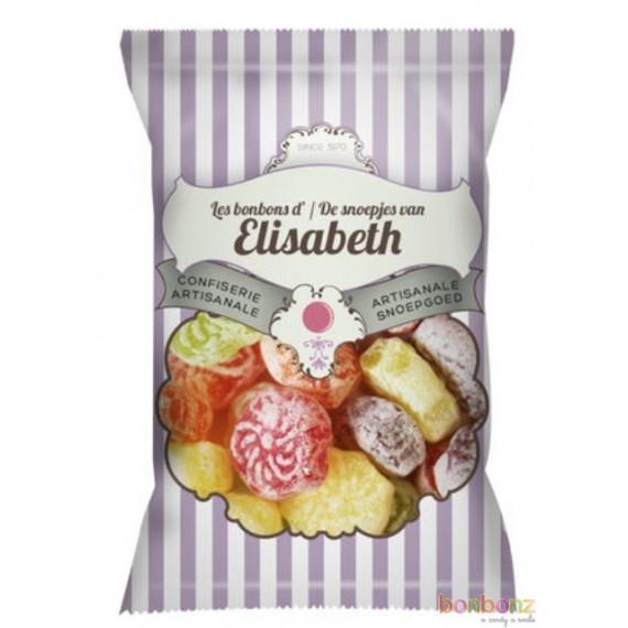 Bonbons artisanaux fleures colorées Elisabeth - 100g