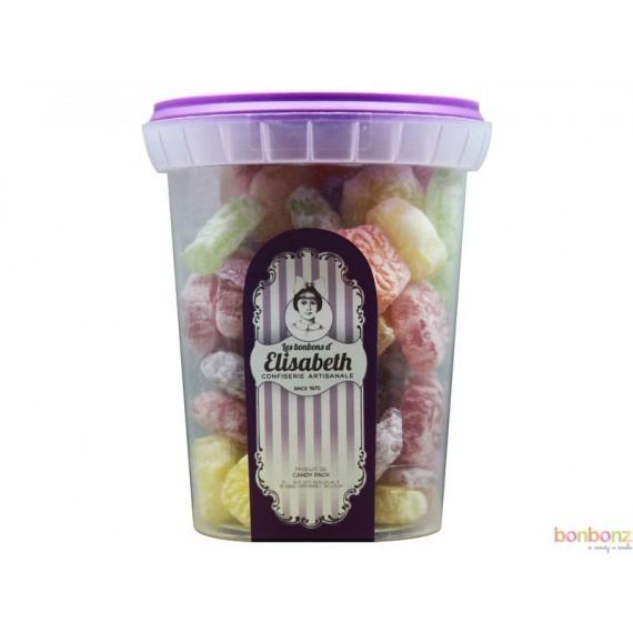Bonbons artisanaux en forme de fleurs Elisabeth - 200g