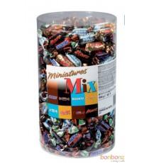 Mélange de Miniatures - Célébrations - Mars, Twix, Bounty, Snickers