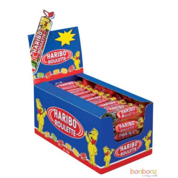Bonbon Haribo - Roulette aux fruits