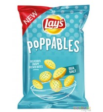 Lay's Chips Poppables Sea Salt 100g - chips au sel marin