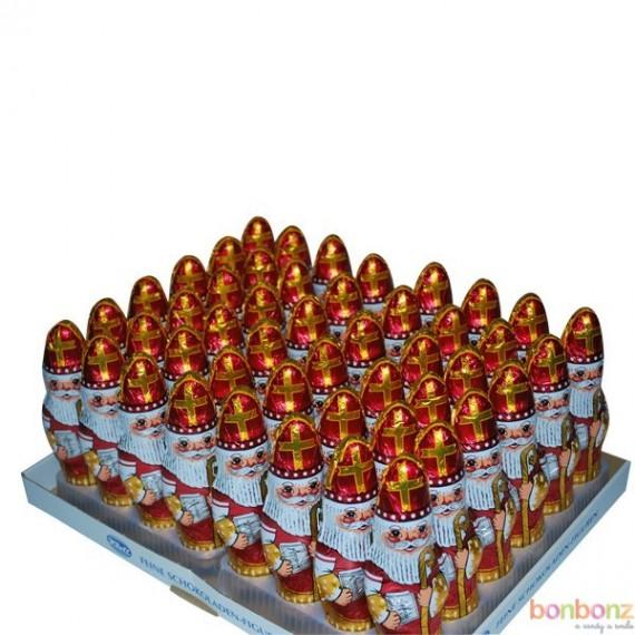 Boîte de 48 Saint-Nicolas chocolat 60 gr.