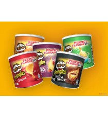 Pringles Chips assortiments -  5 x 40g