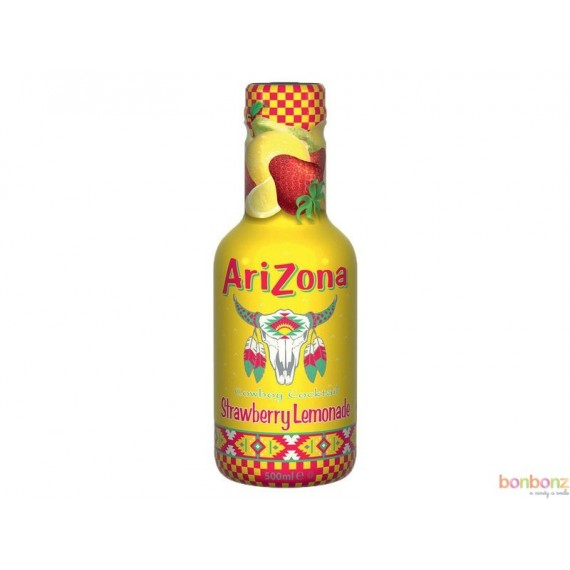 Arizona Green Tea strawberry lemonade - boisson - cowboy cocktail fraise