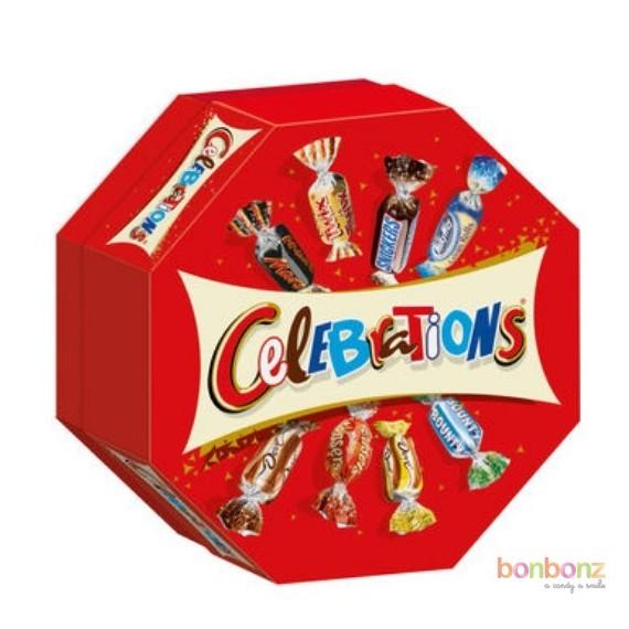 Celebrations Sweet - 186g de mini chocolats Mars, Twix, Bounty, Snickers