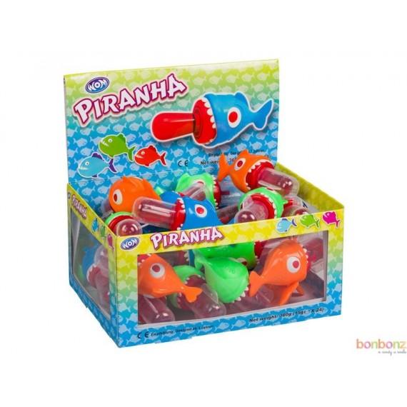 Sucette Piranha - bonbons poisson, aquarium, confiseries pour anniversaire