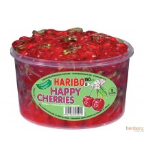 Cerise Happy Cherries - Bonbons Haribo 1,2 kg
