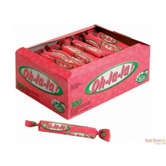 Oh la la fraise - Lutti - caramel au goût de fraise