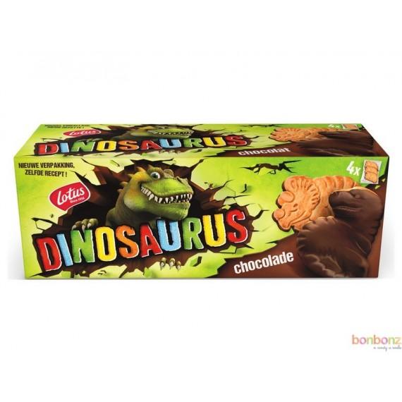 Biscuits Dinosaurus de Lotus - chocolat - 24 boîte de 4x3p