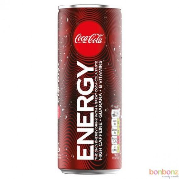 Coca-Cola Energy - boisson énergisante au goût de Coca-Cola