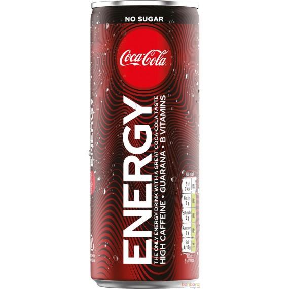 Coca-Cola Energy zero - boisson énergisante au goût de Coca-Cola