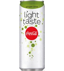 Coca-Cola Light Ginger Lime - soda au gingembre et citron vert