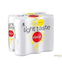 Coca-Cola light lemon - soda au goût de citron