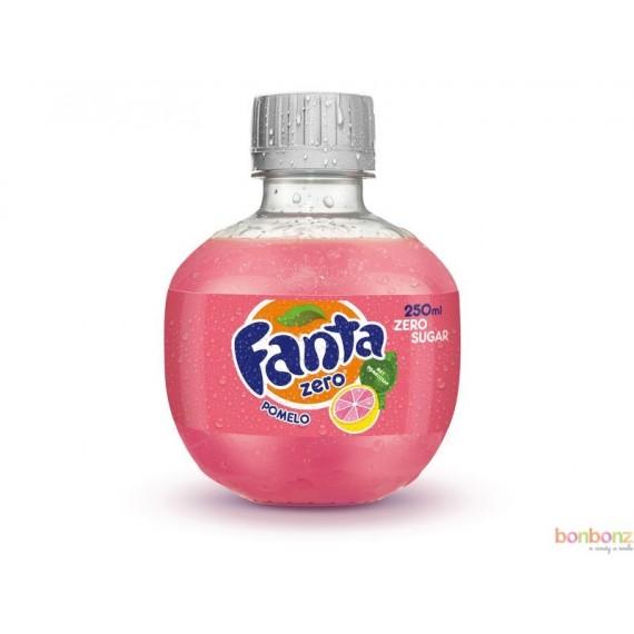 Fanta Zero Pomelo Pink - boissons gazeuses light aux extraits de fruits