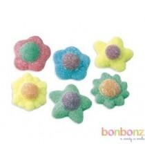 Bonbons fleurs Acidulées Fini - confiserie hallal, sans gélatine de porc