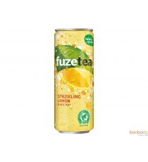 Fuze Tea Black Tea Lemon - Sparkling lemon - 24 x 25cl