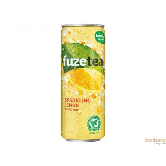 Fuze Tea Black Tea Lemon, thé glacé au citron - Sparkling lemon