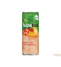 Fuze Tea Black Tea Peach hibiscus - 24 x 25cl