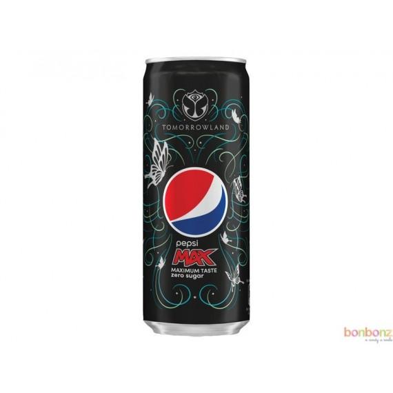 Pepsi Max Tomorrowland  - canette de cola light