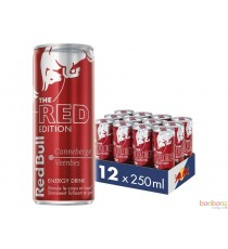 Red Bull - red edition - canneberge - 4 x 25Cl