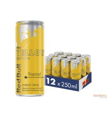 Red Bull - yellow edition - tropical - 4 x 25Cl