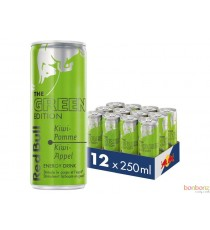 Red Bull - Green edition - Kiwi pomme - 4 x 25Cl