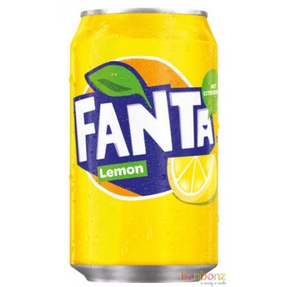 Fanta citron - soda aux arômes naturels - coca-cola company