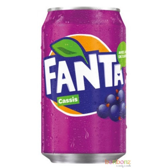Fanta cassis - soda aux arômes naturels de baies de cassis - coca-cola company