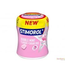 Stimorol bottle bubble mint - 70 chewing gum pour une haleine fraîche