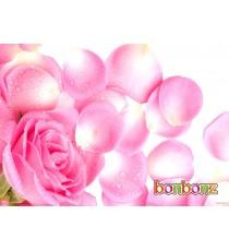 Carte fantaisie ROSE - Message personnalisé