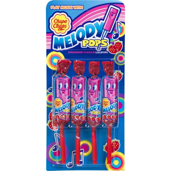 Sucettes Chupa Chups - Melody Pops - 15gr.