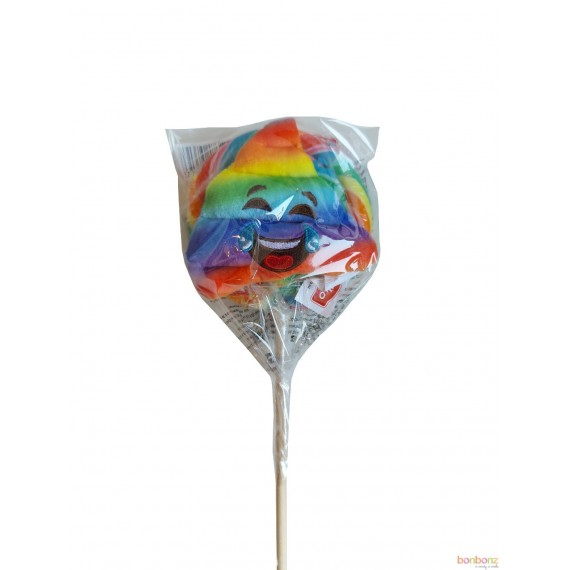 Sucette Arc-En-Ciel Peluche - 110 gr - Felko plush pops rainbow poo