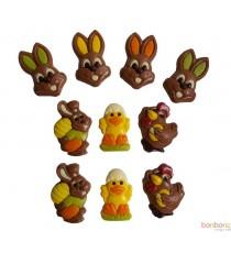 Figurines de Pâques - 10 pièces