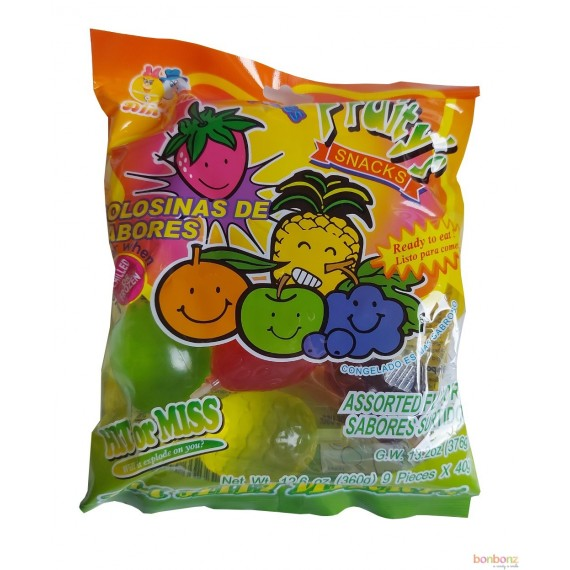 Fruity snacks - Jelly belly fruit challenge Tik Tok - 40gr