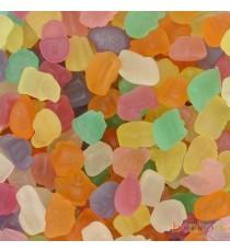 Gommes Confetti sans sucre  - Confiserie Joris