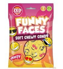 Funny faces - smiley -  106gr - goût fruits